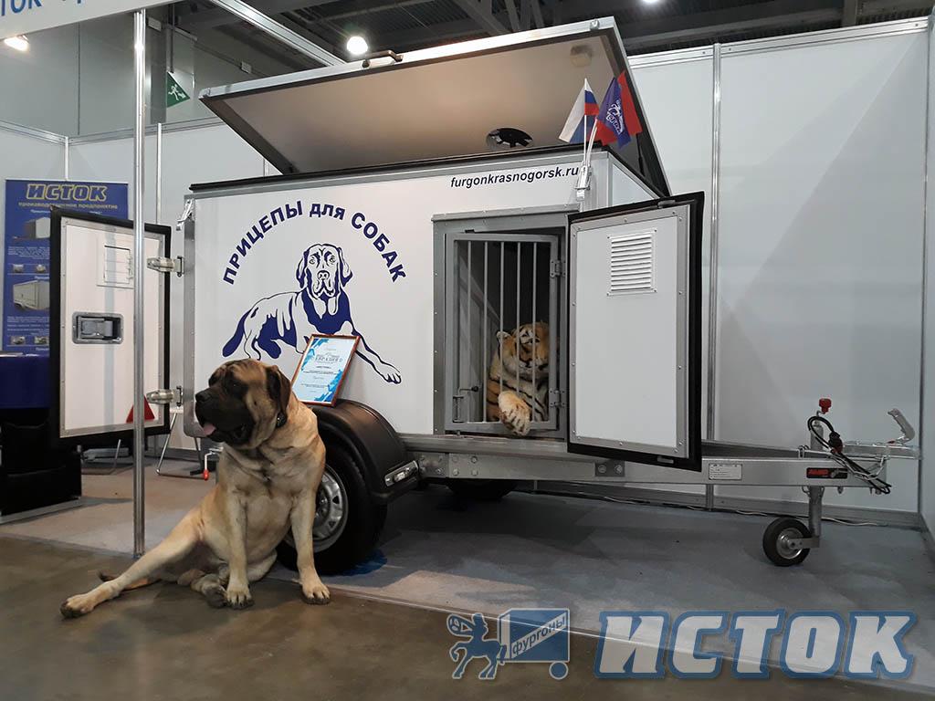Прицеп легковой для перевозки собак